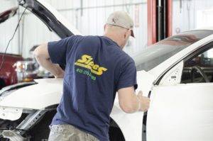 collision repair sipes body and glass inc