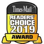 times mail readers' choice 2019 award